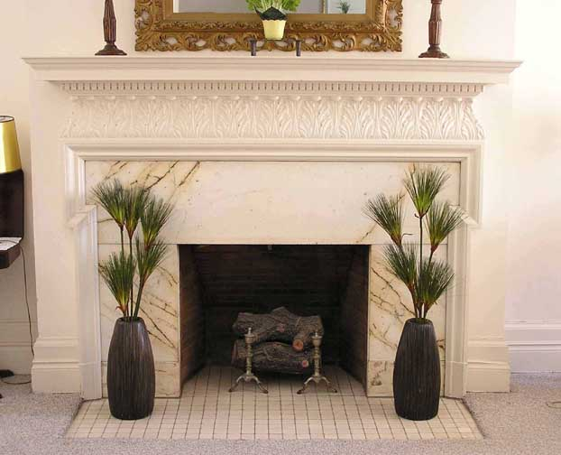 how to plug hole in fireplace