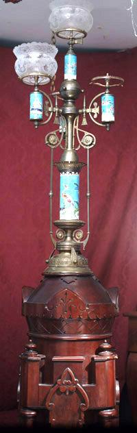 Newel post aesthetic newel post light aloadofball Image collections