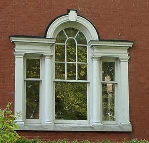 & Palladian window