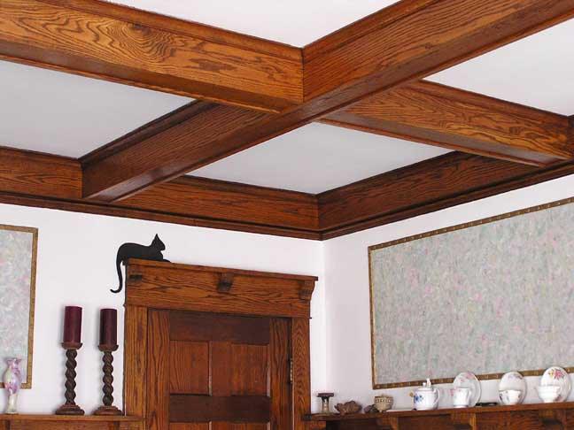 Bungalows for Box beam ceiling