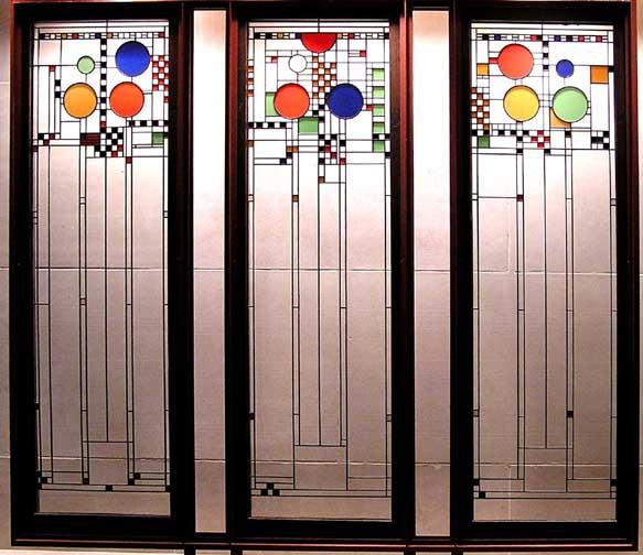 Art deco for Art glass windows and doors