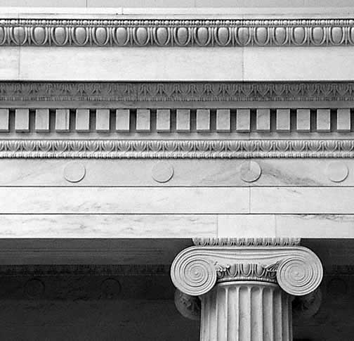 ionic columns and dentil - photo #5