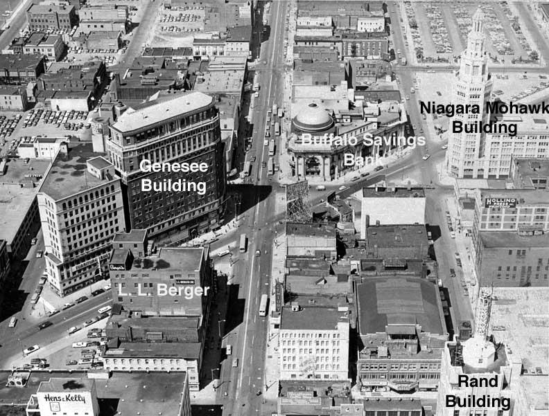 Genesee Building Hyatt Regency Buffalo