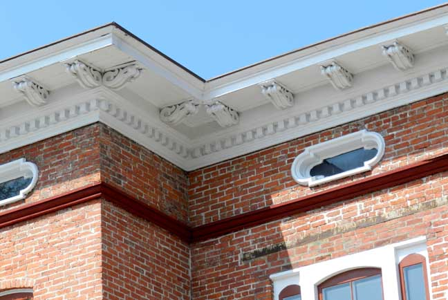 Beautiful Exterior Dentil Molding Pictures - Amazing House ...