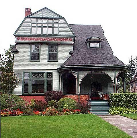 Fowler house buffalo for Shingle style architecture