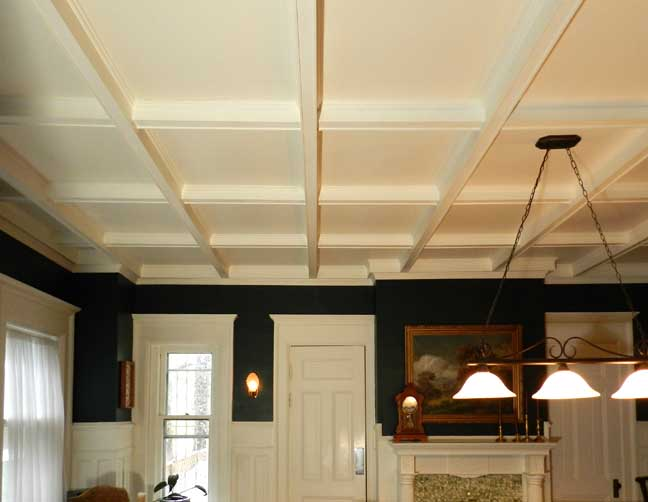 440 linwood avenue for Box beam ceiling