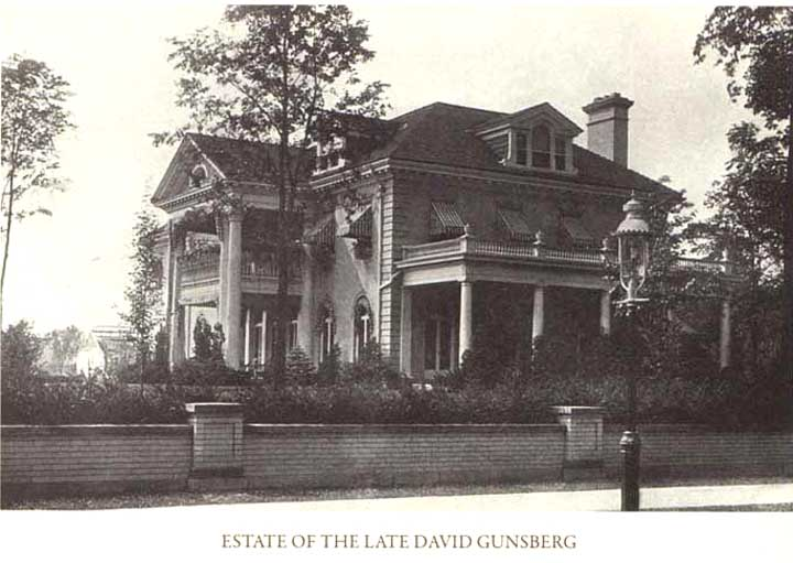 David Gunsberg House