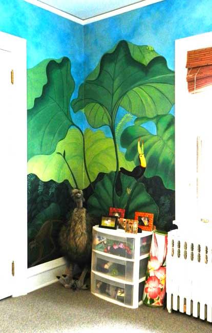 Walter p trible house for Bufflon revetement mural