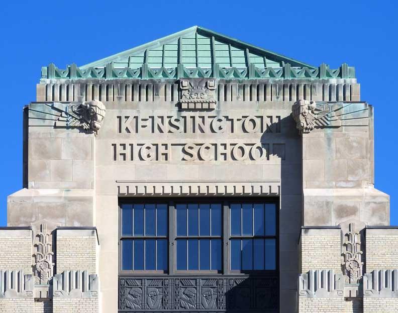 Kensington High School Frederick Law Olmsted School At