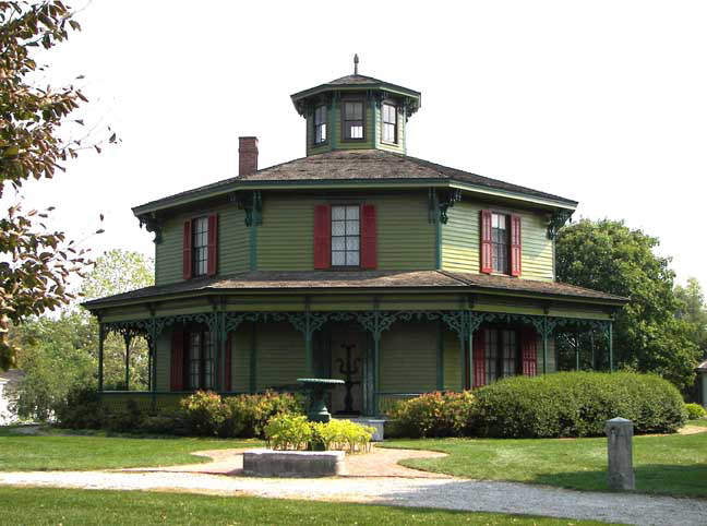 Octagon House File Watertown Octagon House Plans Png