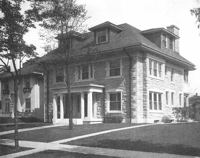 J Buffalo House William J. Crawford Ho...