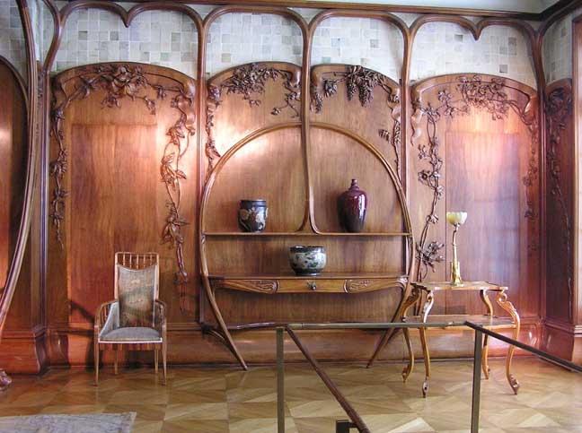 Art nouveau for Decoration interieur original