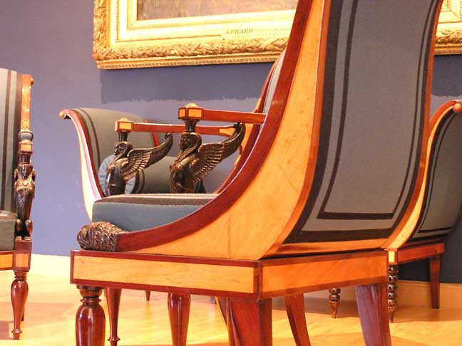 Nice Sphinx Arm Posts   Jacob Freres, Chairs From Madame Récamieru0027s ...