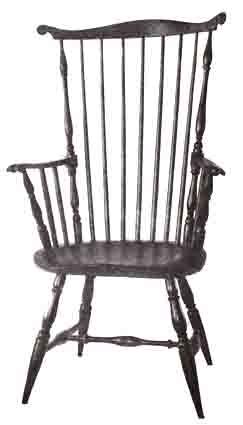 Armchair   Wallace Nutting, A Windsor ...