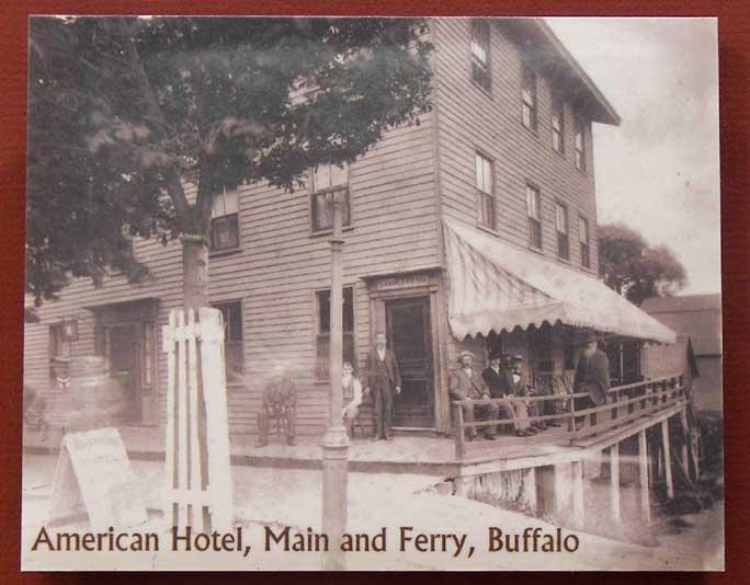 Buffalo history index for Americana hotel nyc