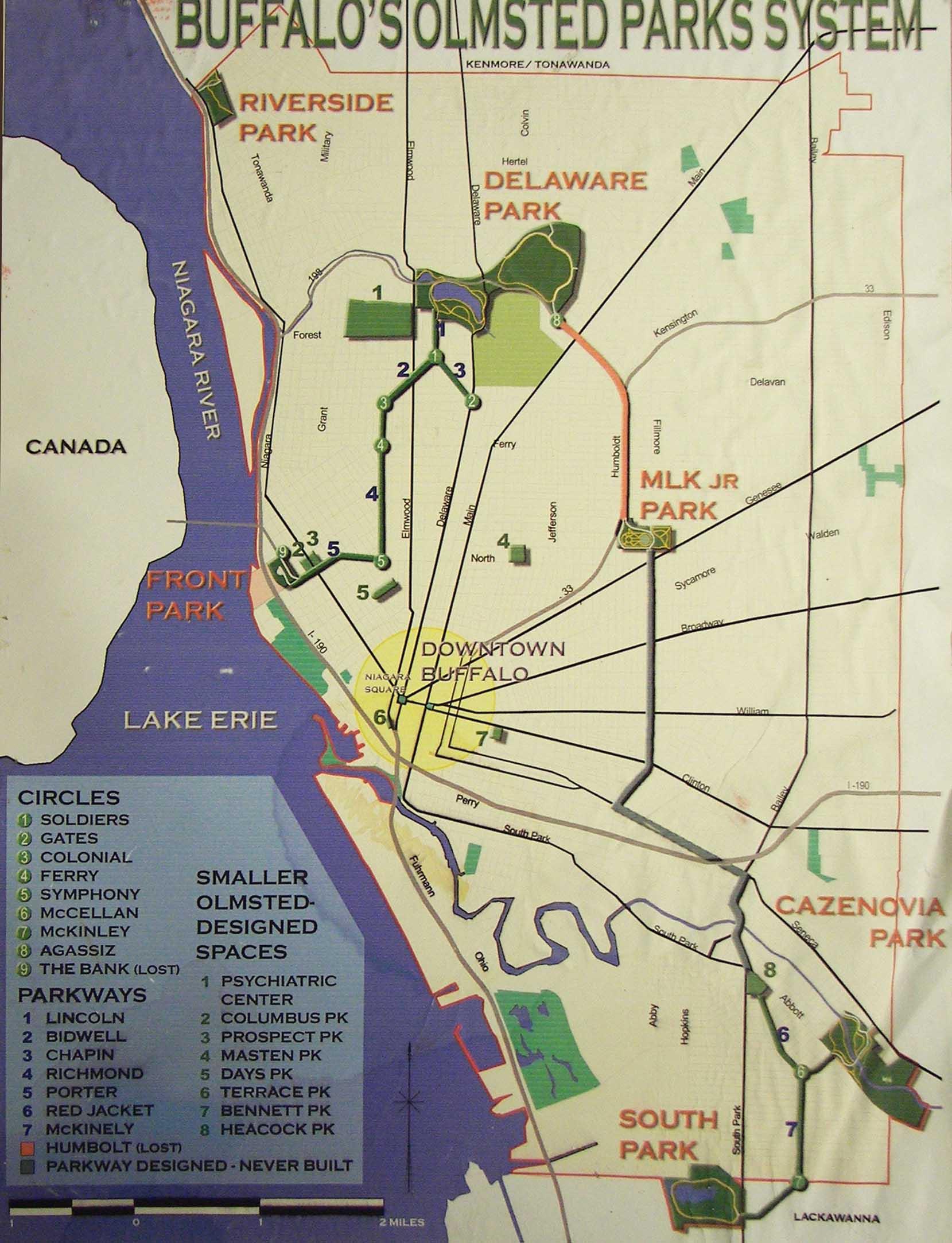 map delaware park buffalo ny u2013