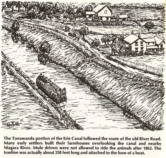 history of the erie canal