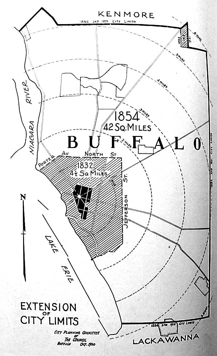 BuffaloResearchcomHistoric Maps Of Buffalo Erie - Map of us showing buffalo ny