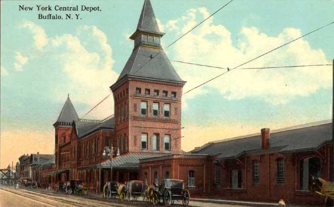 Ny central terminal for Depot hamburg