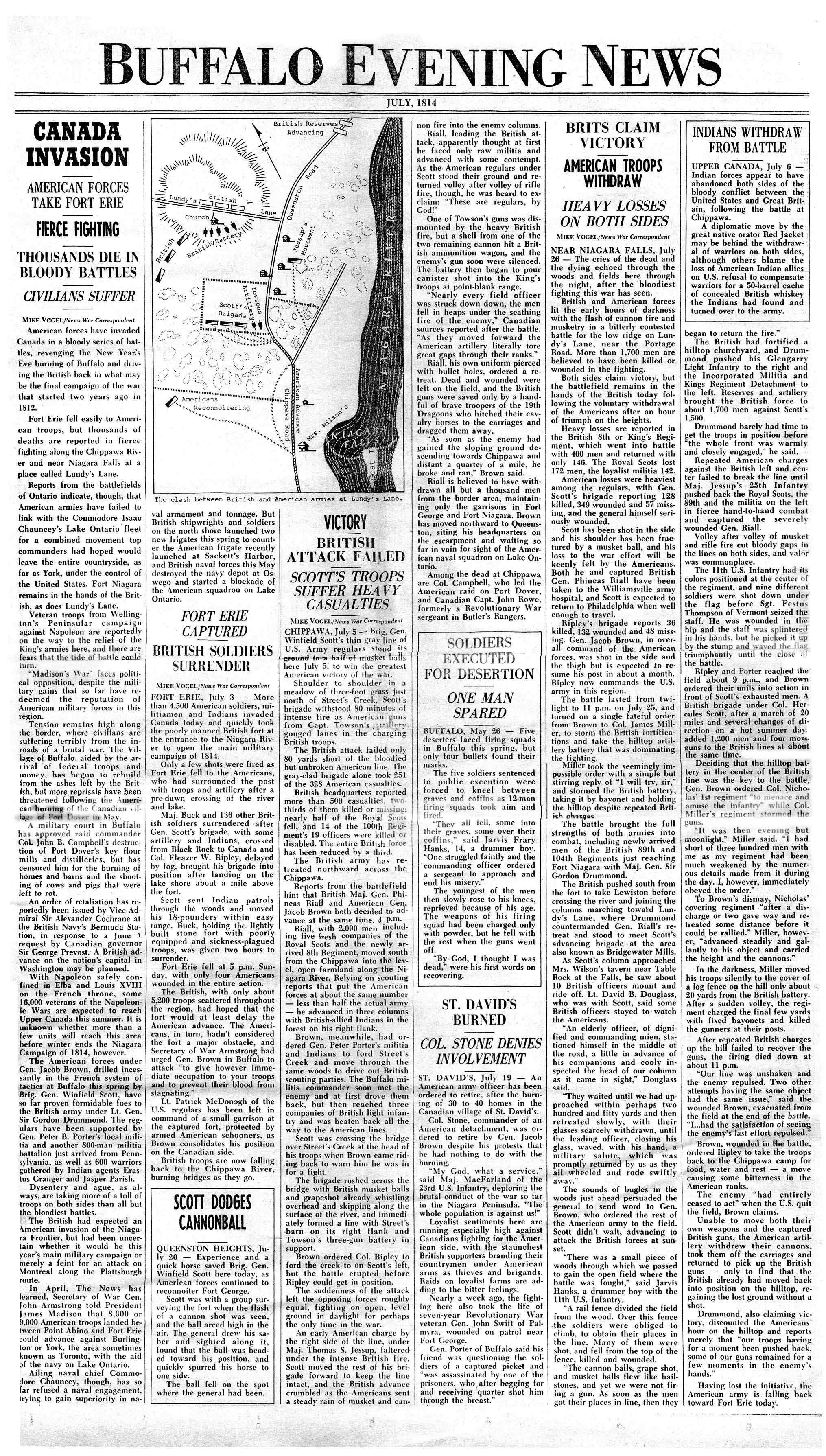 war ofessay war ofessay war ofmike vogels newspaper version of the war of